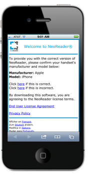 Get.NeoReader.com | Scan QR, Data Matrix, Aztec, UPC, and EAN Codes